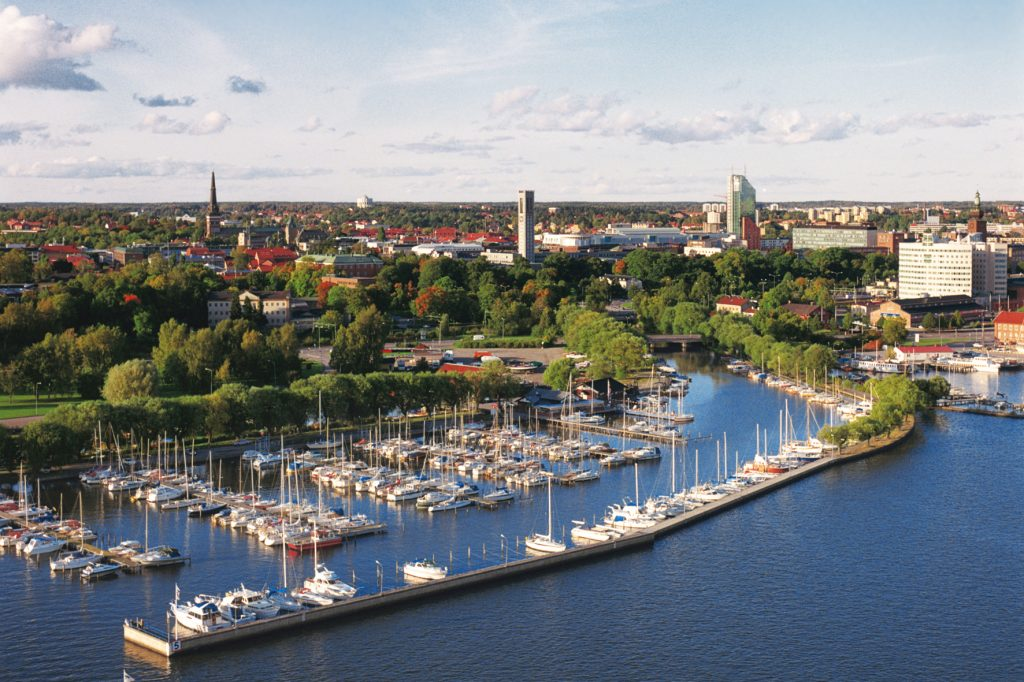 Västerås City by C. Shirley https://www.flickr.com/photos/vasterasstad/5059767984